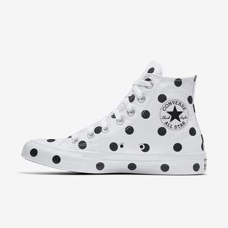 Converse Chuck Taylor All Star Polka Dots High Top Women's Shoe