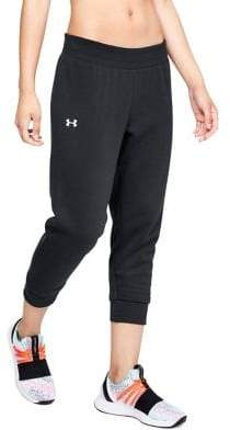 Under Armour Rival Fleece Cropped Jogger Pants