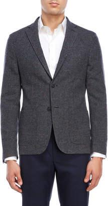 DKNY Grey Puppytooth Sport Coat
