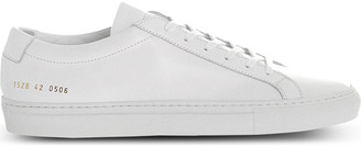 COMMON PROJECTS Achilles leather low-top trainers $265 thestylecure.com