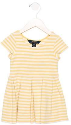 Polo Ralph Lauren Girls' Striped Short Sleeve Dress
