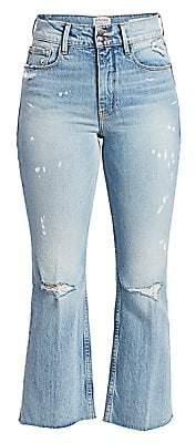 Frame Women's Heritage Sylvie Kick Flare Jeans
