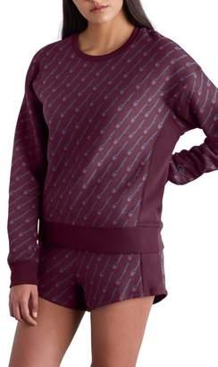 Champion All Over Logo Reverse Weave Sweatshirt
