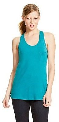 Women's Burnout Tank with Pocket - Mossimo $12 thestylecure.com