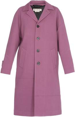 Marni Cotton And Wool Coat