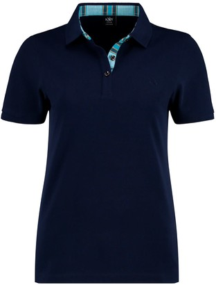 Koy Clothing Navy Blue Ladies 'Luo' Polo Top