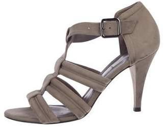 Pour La Victoire Suede Buckle Sandals