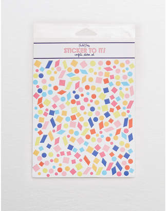 aerie Packed Party Confetti Sticker