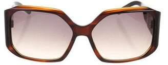 Christian Roth Square Gradient Sunglasses