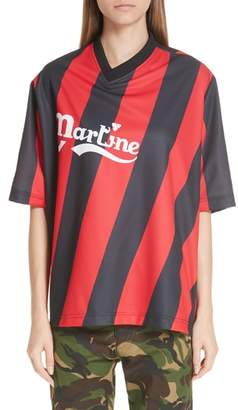 Martine Rose Twist Football Top
