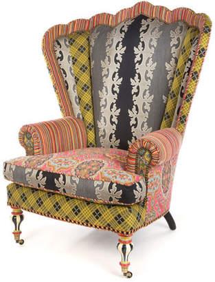 Mackenzie Childs MacKenzie-Childs Kensington Wing Chair