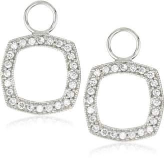 "KC Designs Charmed Life"" Diamond 14k Gold Cushion Shape Ear Charm"