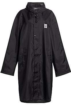 Vetements Women's Oversize Hooded Raincoat