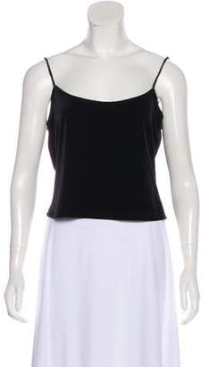 Ellen Tracy Velvet Sleeveless Camisole