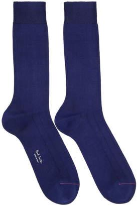 Paul Smith Contrast Toe Link Socks