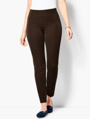 Talbots Bi-Stretch Pull-On Skinny Ankle - Curvy Fit