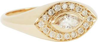 Marquis Zoe Chicco Diamond Signet Ring