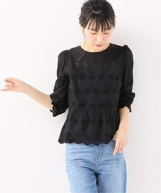 Spick and Span (スピック アンド スパン) - Spick and Span 【Madewell】 EYELET YOKE AND PEPLUM BLOUSE