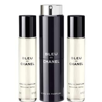 Chanel Bleu De Chanel, Eau De Parfum Pour Homme Refillable Travel Spray