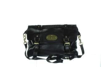 Mulberry Alexa Black Leather Handbag
