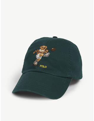 Polo Ralph Lauren Rugby polo bear cotton baseball cap