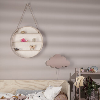 ferm LIVING Cloud Wall Lamp - Dusty Rose