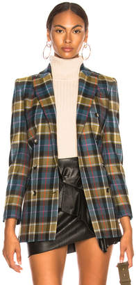 Alberta Ferretti Double Breasted Blazer