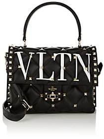 Valentino Women's Candystud Single Leather Handbag - Black