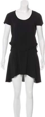 For Love & Lemons Asymmetrical Mini Dress