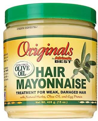 Organic Root Stimulator Africas Best Orig Hair Mayonnaise 15 Ounce Jar (443ml)