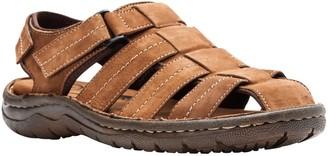 Propet Men's Leather Fisherman Sandals - Joseph