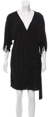 Hanley Mellon Knee-Length Wrap Dress w/ Tags