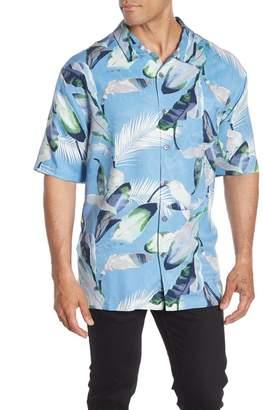 Tommy Bahama Garden of Hope & Courage Hawaiian Shirt (Big & Tall)