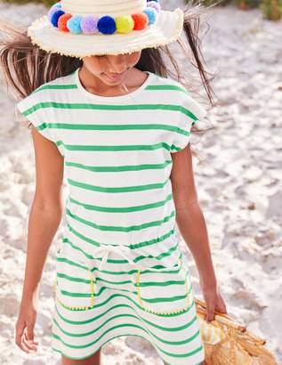 Boden Tie-waist Jersey Dress