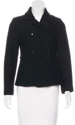 RED Valentino Virgin Wool Button-Up Jacket