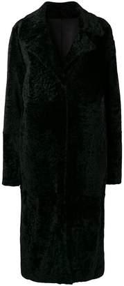 Drome reversible single-breasted coat