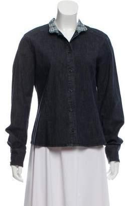 Burberry Nova Check Denim Shirt