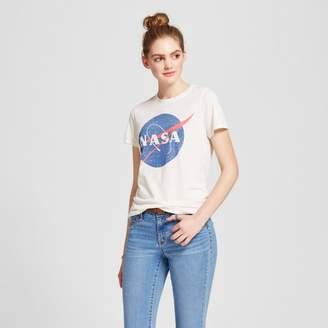 Zoe+Liv Women's NASA® Graphic T-Shirt Cream XXL - Zoe+Liv (Juniors')