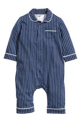 H&M Jumpsuit - Dark blue/white striped - Kids