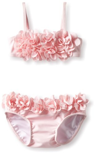 Kate Mack Baby-Girls Infant Blooming Roses Swim Bikini