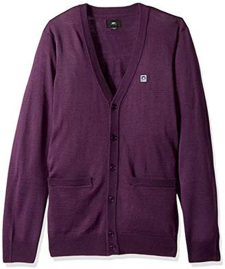 Obey Men's Eighty Nine Cardigan Sweater