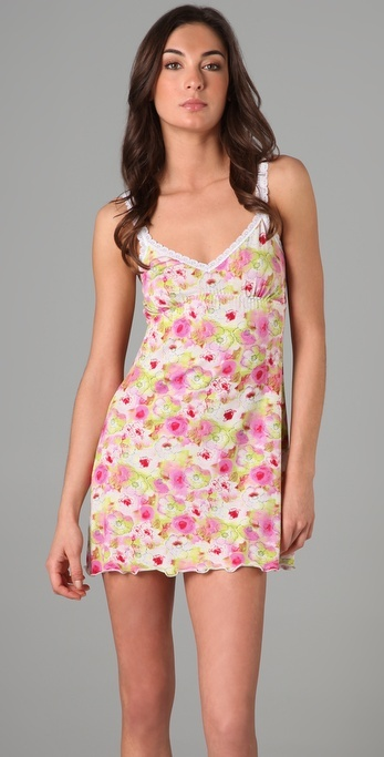 Hanky Panky Happy Floral Chemise