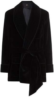 Daniel Hanson Quilted Collar Robe