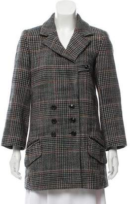 Chloé Double-Breasted Wool Coat