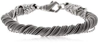 Emanuele Bicocchi Torsion Silk Chain Bracelet