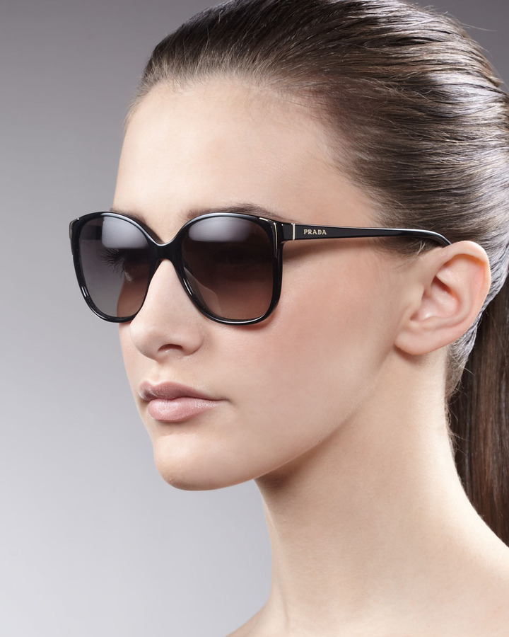 Prada Buckle Theme Sunglasses