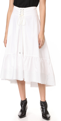 3.1 Phillip Lim Skirt with Victorian Waist $475 thestylecure.com