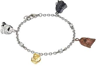 Star Wars Jewelry Character Stainless Steel 3D Charm Bracelet