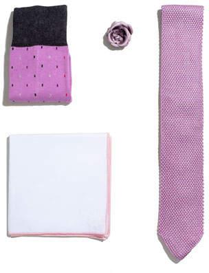 hook + ALBERT Shop the Look Suiting Accessories Set, Pink