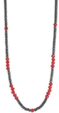 King Baby Studio American Voices Glass Bead Necklace
